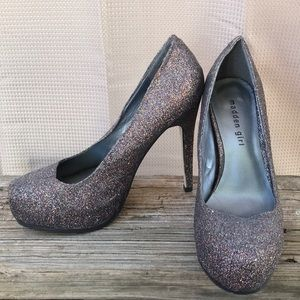 Madden Girl Sparkly Pumps